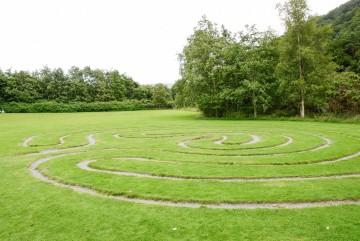 Rasenlabyrinth / Irland